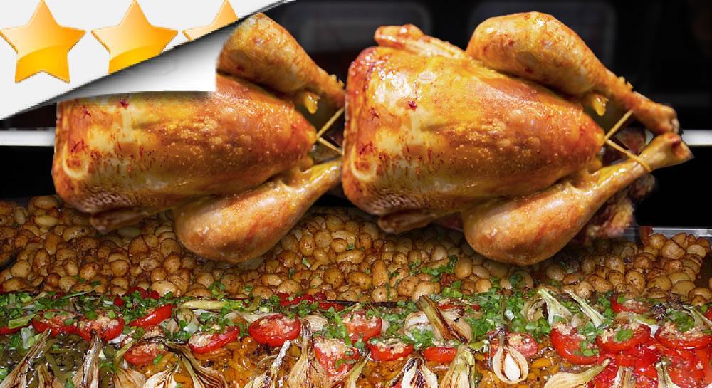 repas poulet et dinde par l 39 art de la grillade sur broche. Black Bedroom Furniture Sets. Home Design Ideas